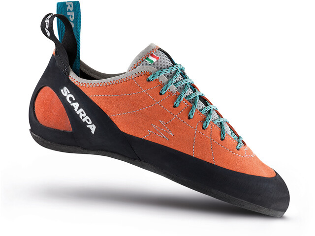 Scarpa Helix Climbing Shoes Dame mandarin red